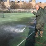 Cleaning Courts