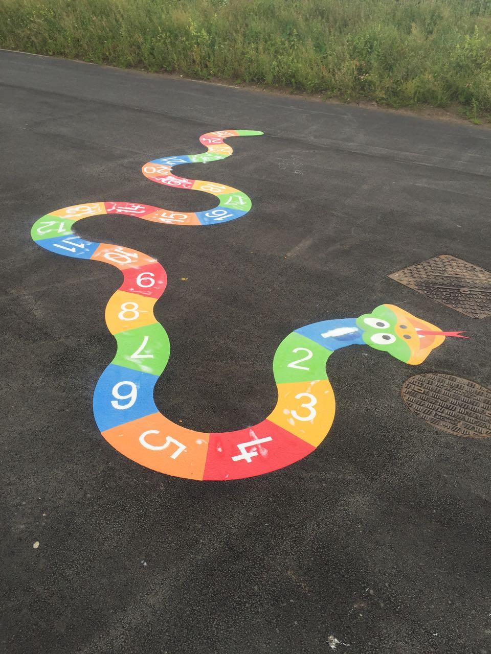 Playground Graphics Number Snake Colourworks