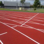 Lining Polymeric Running Track