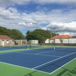 US Open Court US Blue – Inner Standard Green – Outer