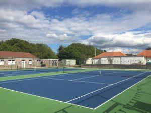 US Open Court US Blue – Inner Standard Green – Outer