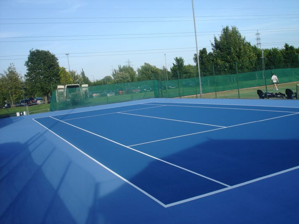 Outdoor Tennis Courts Tennis Court Painting England Wales