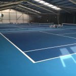 DecTurf Cushioned Acrylic Tennis Surface